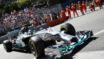 Stewards probe Rosberg's 'deliberate' mistake