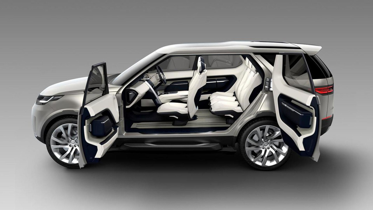 Land Rover Discovery Vision Concept