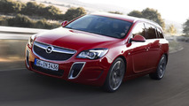 2013 Opel Insignia OPC facelift revealed ahead of IAA launch