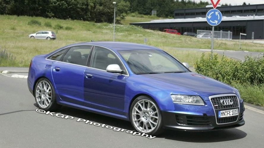 Audi  RS6 Uncovered Spy Photos