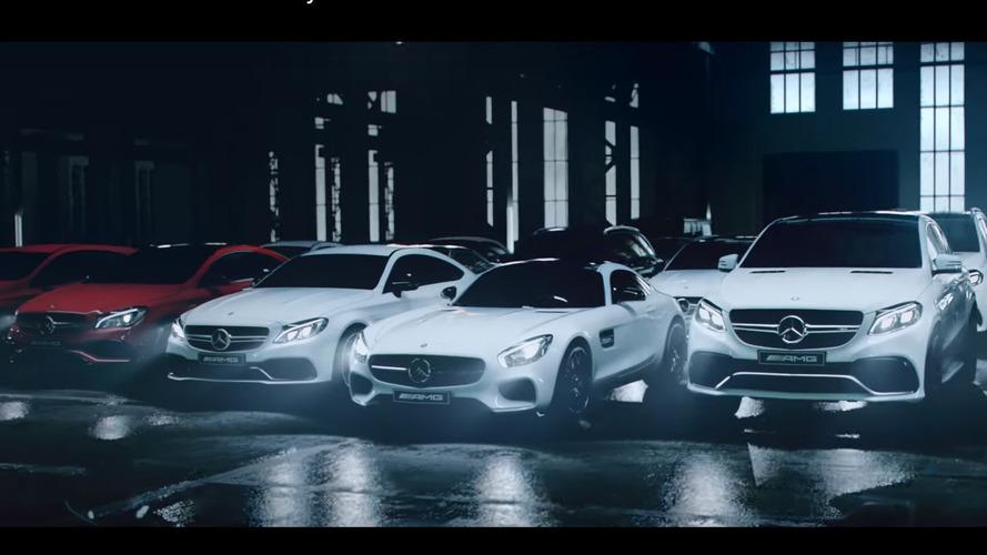 Mercedes-AMG range gets driftastic promo for 2016