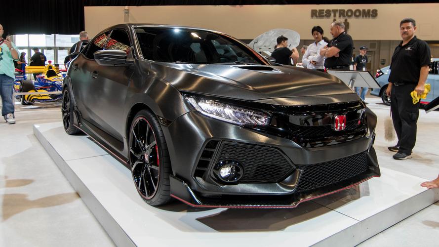 Hooray! The Honda Civic Type R has arrived