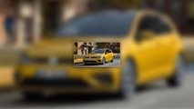 Restyled VW Golf shows off a fresh face in leaked photos