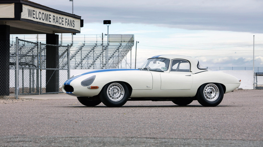 This is the most expensive Jaguar E-Type ever