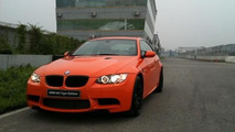 BMW M3 Tiger Edition first photos surface