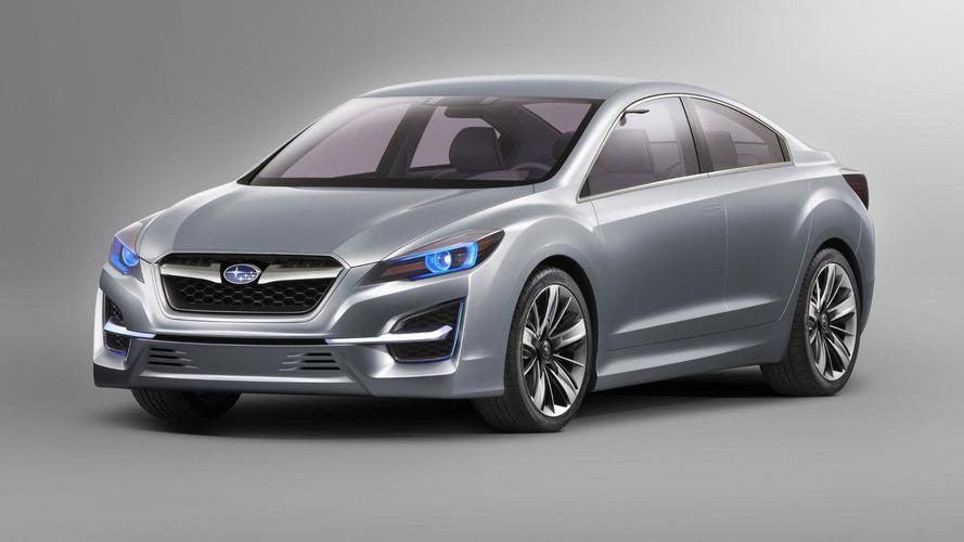 Subaru Impreza Concept previews next generation model