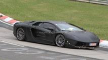 Lamborghini Jota Superleggera spied again at Nürburgring