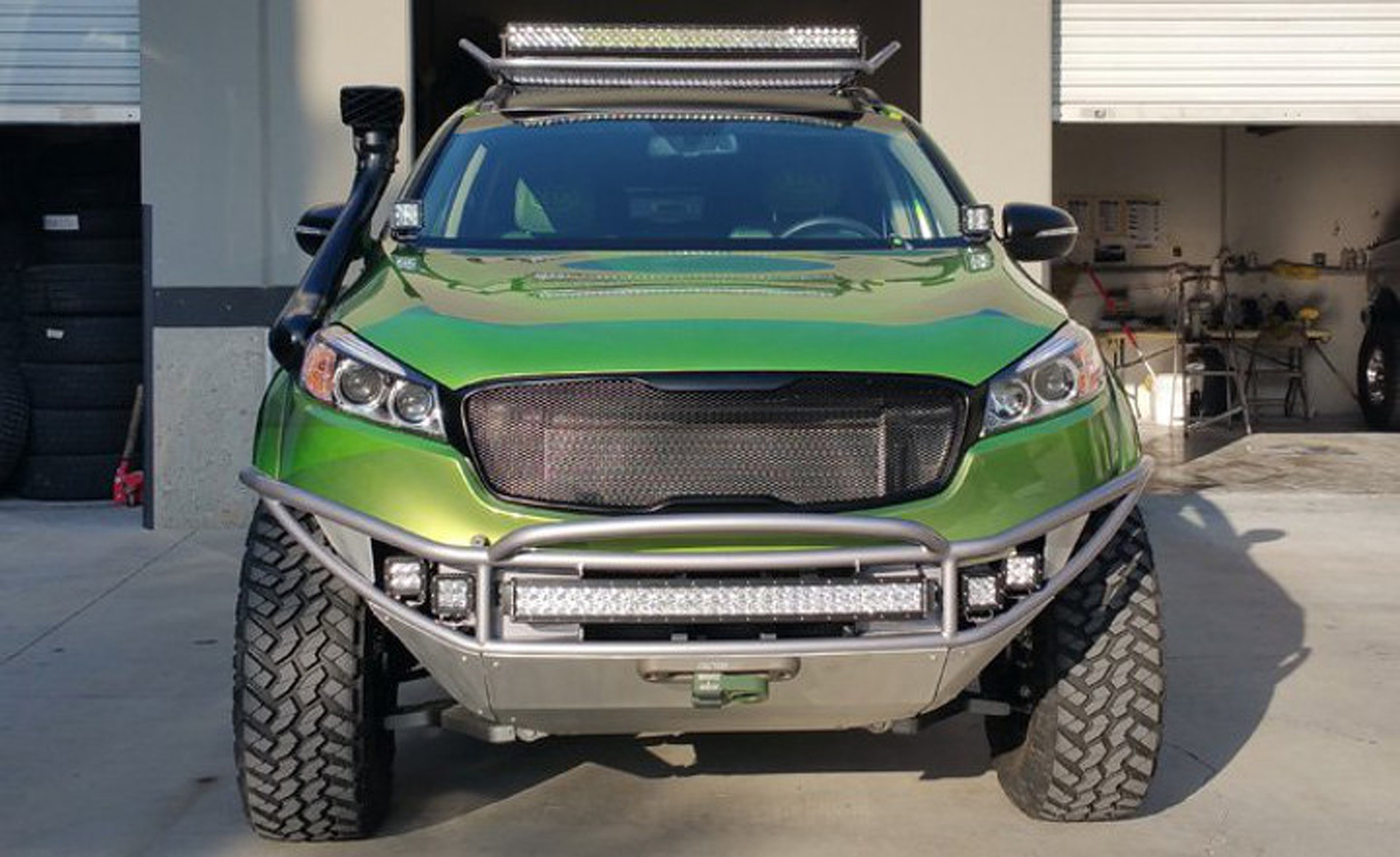 Automakers Turning Commuter Cars into Off-Roaders for SEMA