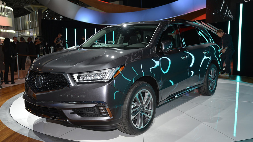 2017 Acura MDX facelift bows in New York