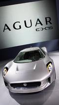 Jaguar C-X75 concept live in Paris 30.09.2010