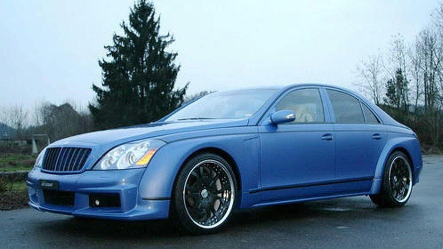 Maybach 57S Pimped by Fab Design