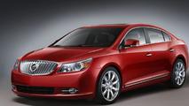 2010 Buick LaCrosse gets Fuel Efficient Ecotec 2.4L Four-Cylinder Engine
