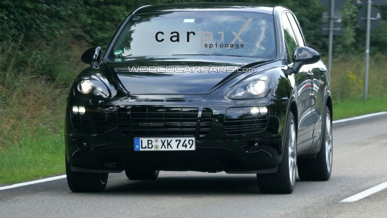 2011 Porsche Cayenne prototype