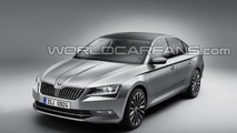 2015 Skoda Superb leaked