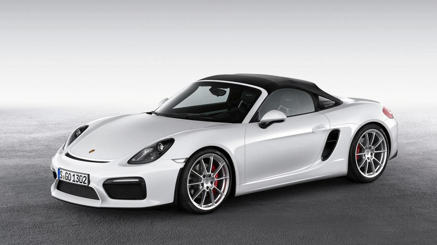 Porsche showcases the new Boxster Spyder [video]