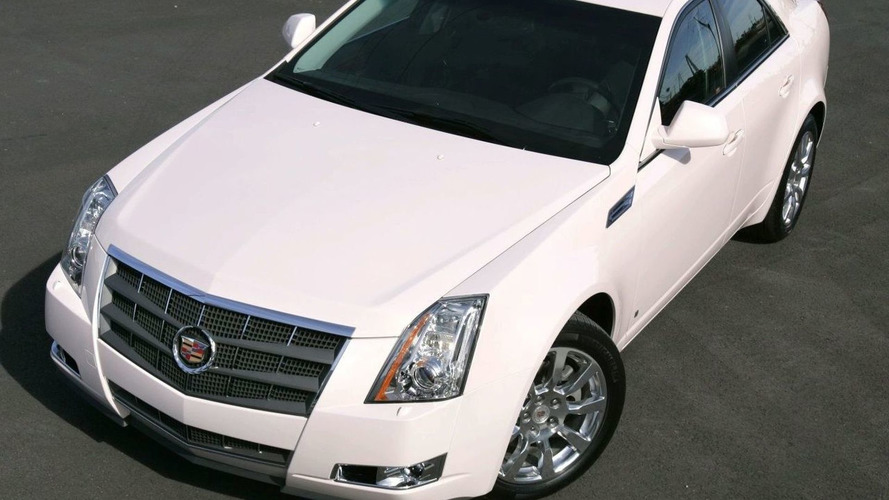 Pink Cadillac CTS for Auction at MusiCares
