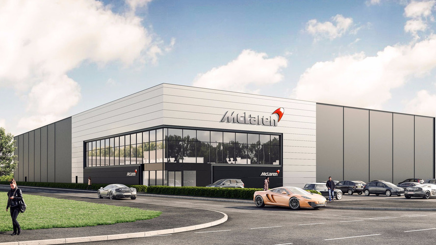 McLaren's New Sheffield Factory Will Build Scalable Carbon Fiber Tubs