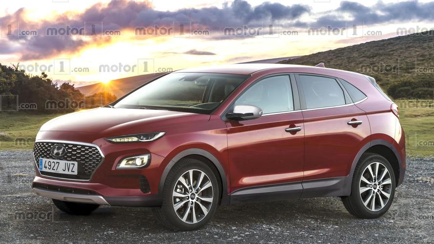 Novo SUV compacto da Hyundai tem visual antecipado por projeção