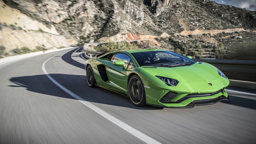 1453 Lamborghini Aventador rappelées aux États-Unis