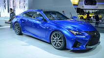 2015 Lexus RC F live in Detroit
