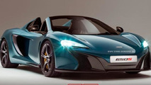 2014 McLaren 650S imagined as a topless supercar