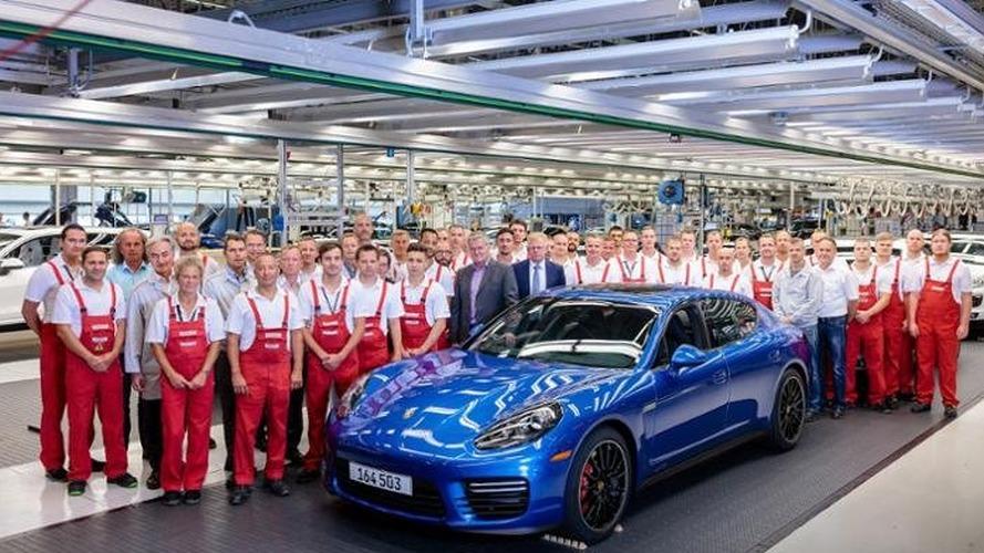 La dernière Porsche Panamera de première génération a été produite