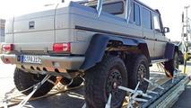 Three-axle Mercedes-Benz G63 AMG V8 Biturbo / AutoBild.de