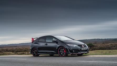 Honda Civic Type R Black Edition sings hot hatch's U.K. swan song