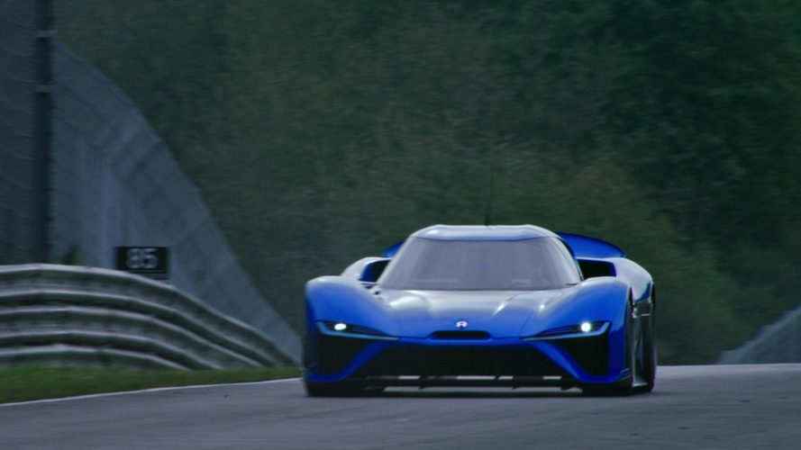Watch Nio EP9 hypercar tackle the Nurburgring to set new EV record