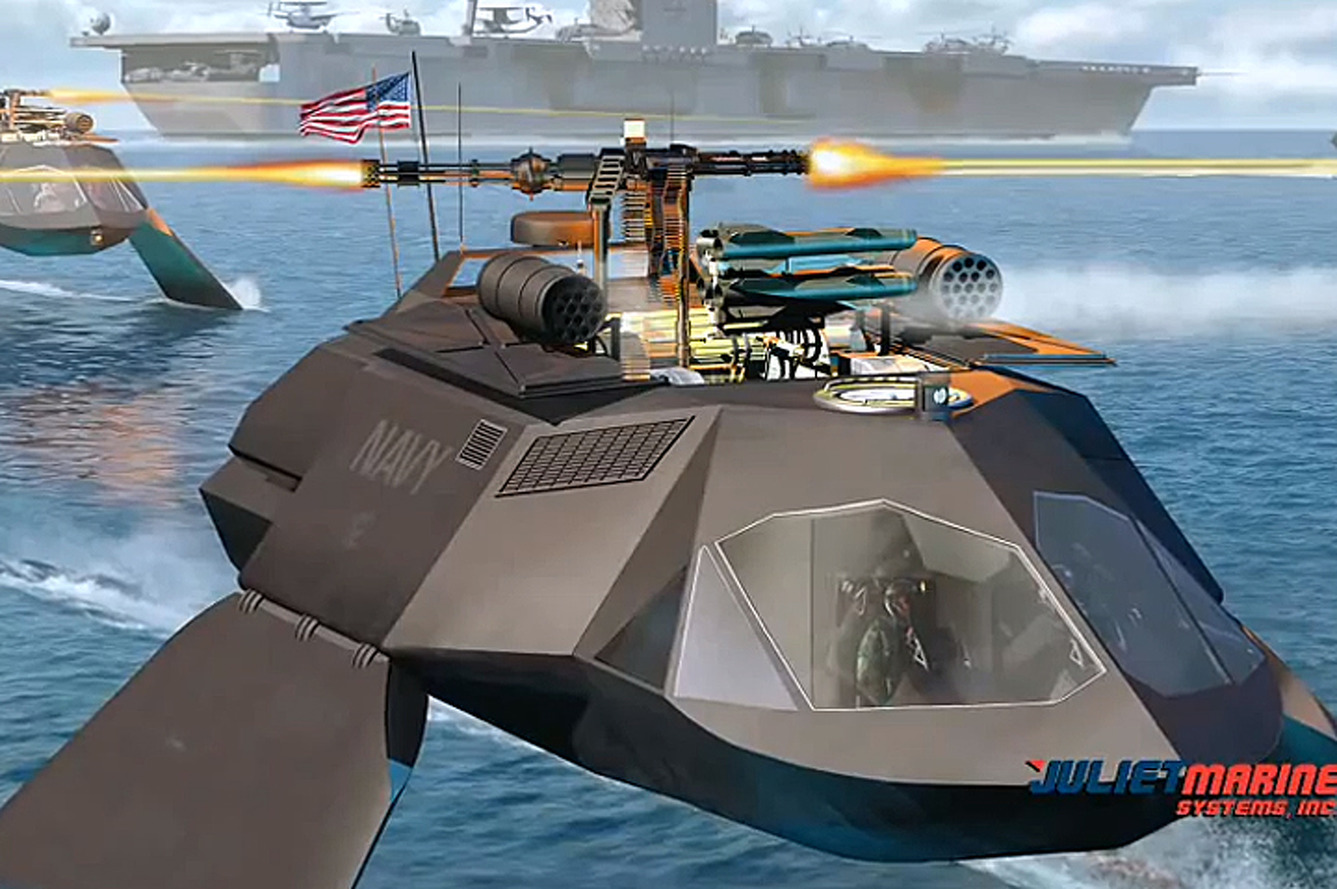 This is the Navy Warship of the Future