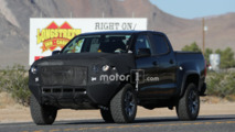 Chevrolet Colorado ZR2 spy photos