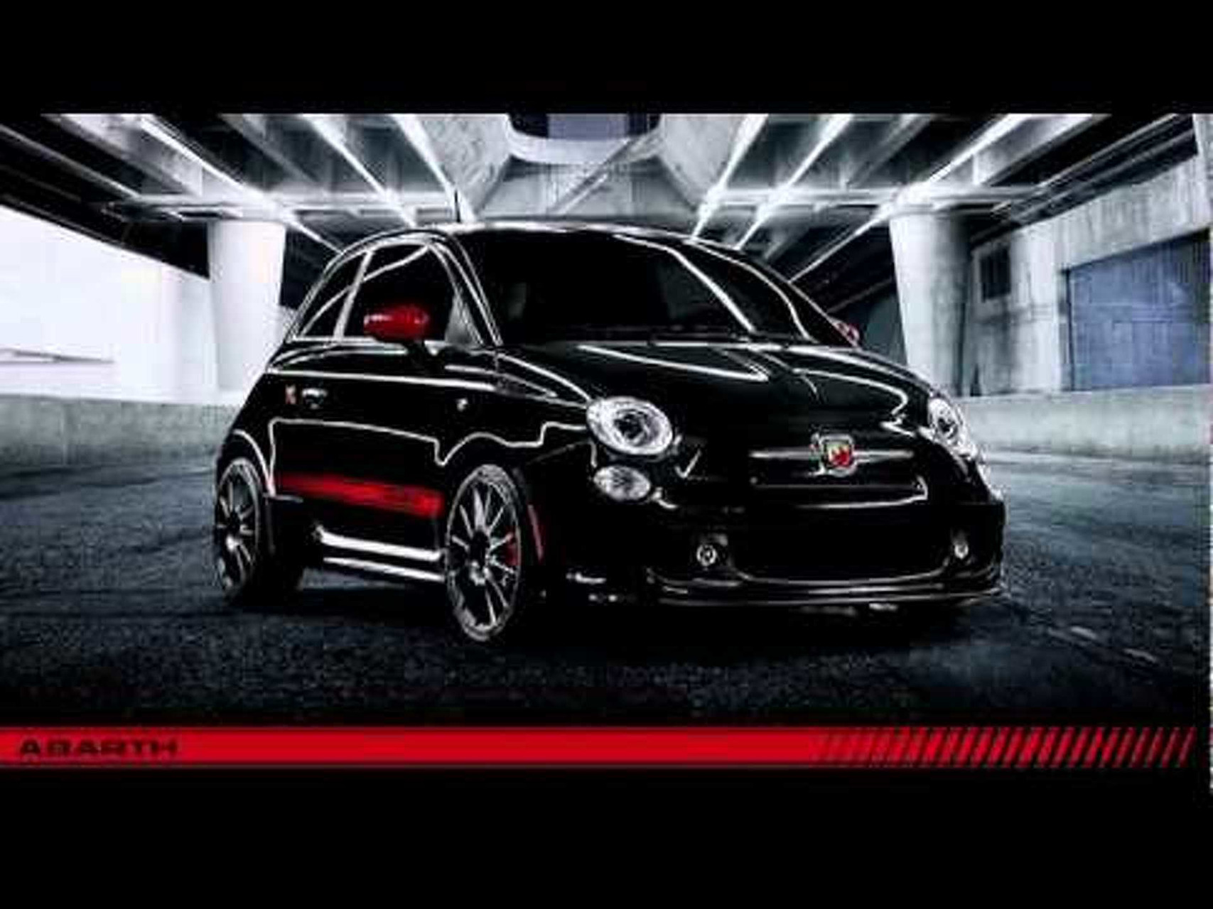 2012 Fiat 500 Abarth Reveal at the 2011 LA Auto Show