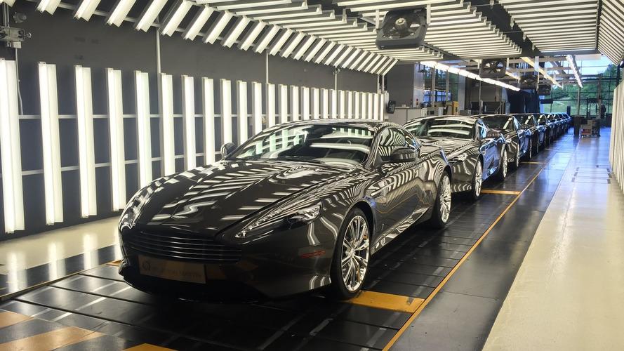 Aston Martin DB9 last nine wait for final inspection