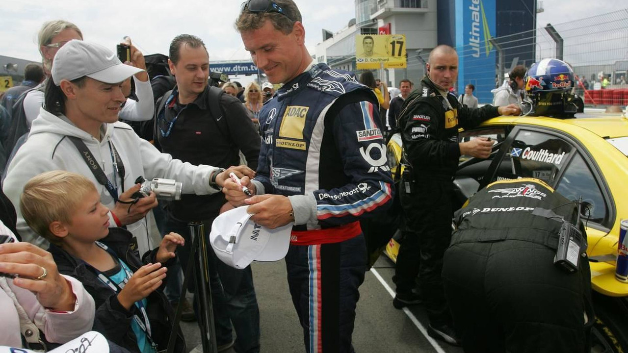 David Coulthard (GBR), Muecke Motorsport, AMG Mercedes C-Klasse - DTM 2010 at Nürburgring, 08.08.2010 Nürburg, Germany