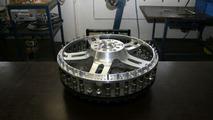 Cargraphic GTR 3-piece wheel