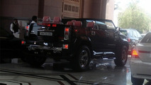 Hummer H2 Cabrio Spotted in Abu Dhabi