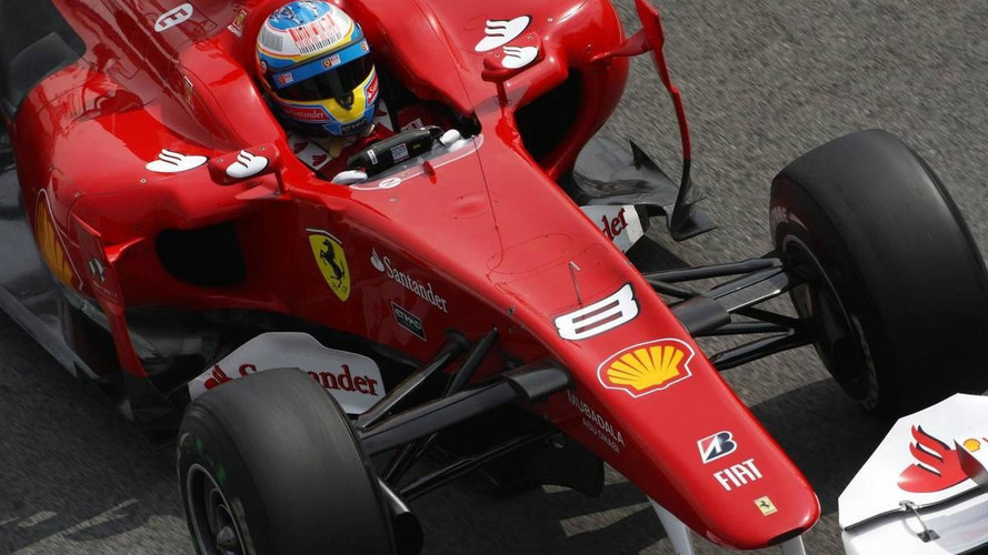 Ferrari fined $20,000 for Alonso-Rosberg near-miss