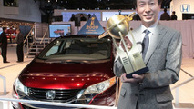 Honda FCX Clarity Wins 2009 Green World Car of the Year Award