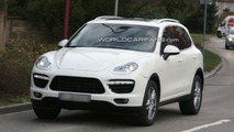 2011 Porsche Cayenne spied nearly undisguised - 04.12.2009