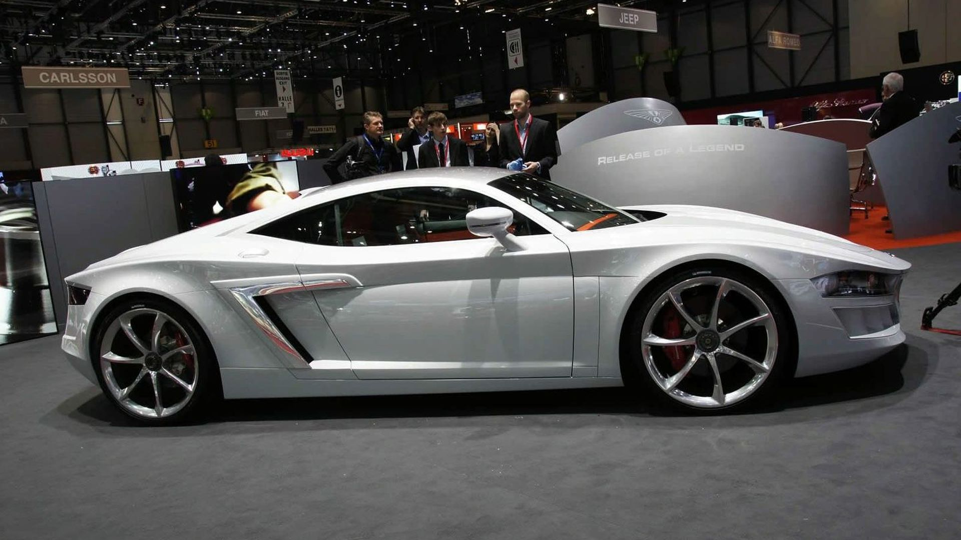 Audi R8 V10 Based Hispano Suiza World Premiere in Geneva [video]