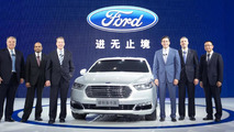 2016 Ford Taurus (CN-spec) at Auto Shanghai 2015