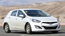 Hyundai dedicated hybrid mule spy photo