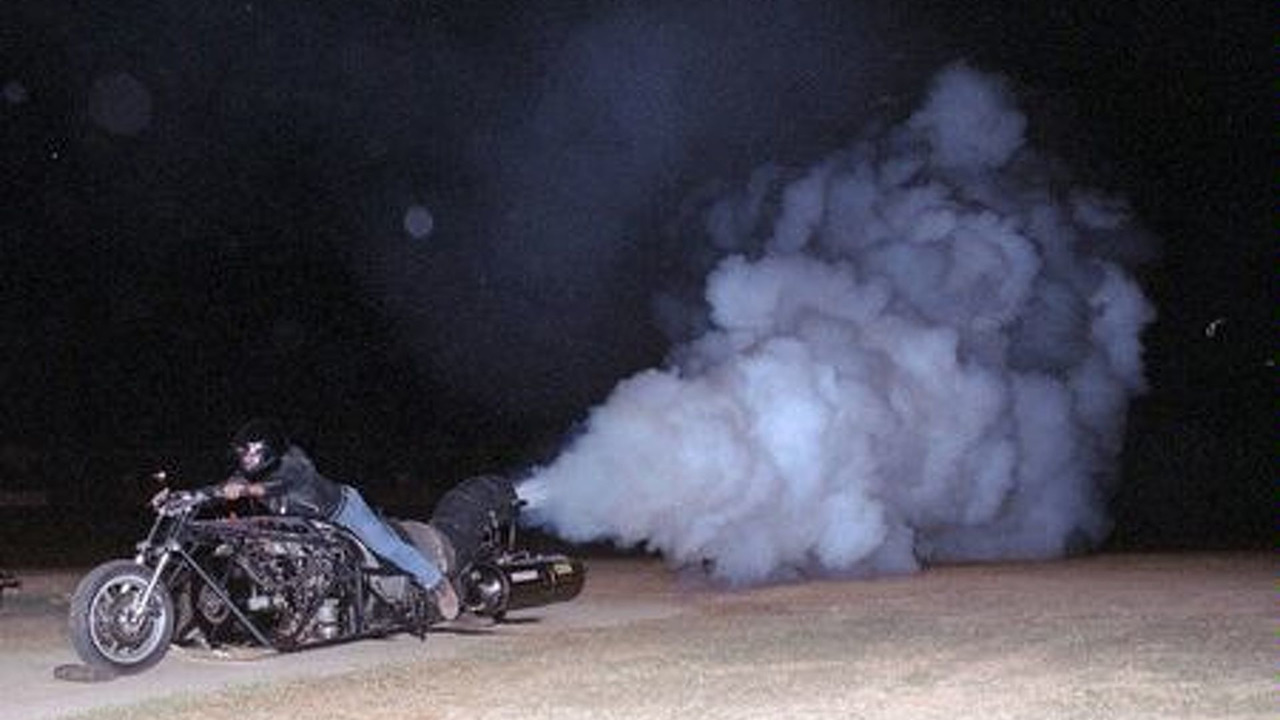 3800hp Jet Powered Motorcycle