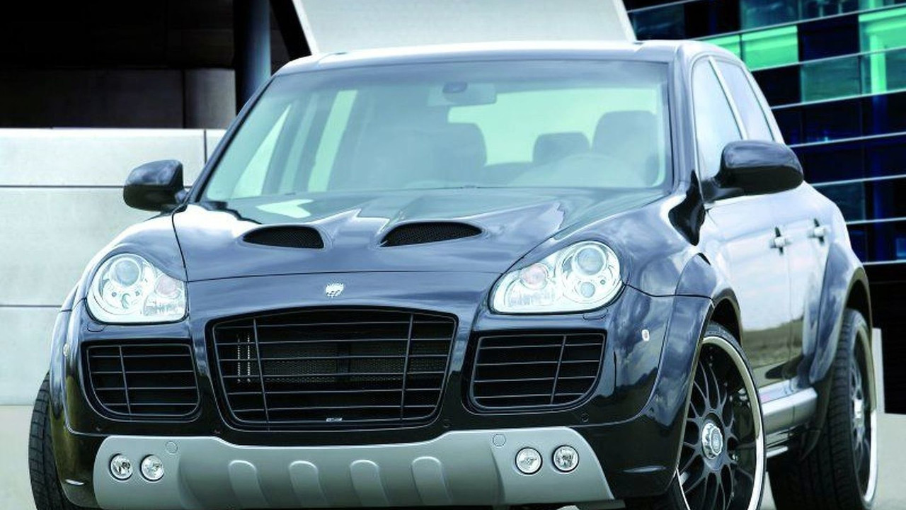 Porsche Cayenne CLR 400 GT by Lumma Design