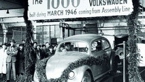 1000th Volkswagen after the end of the war