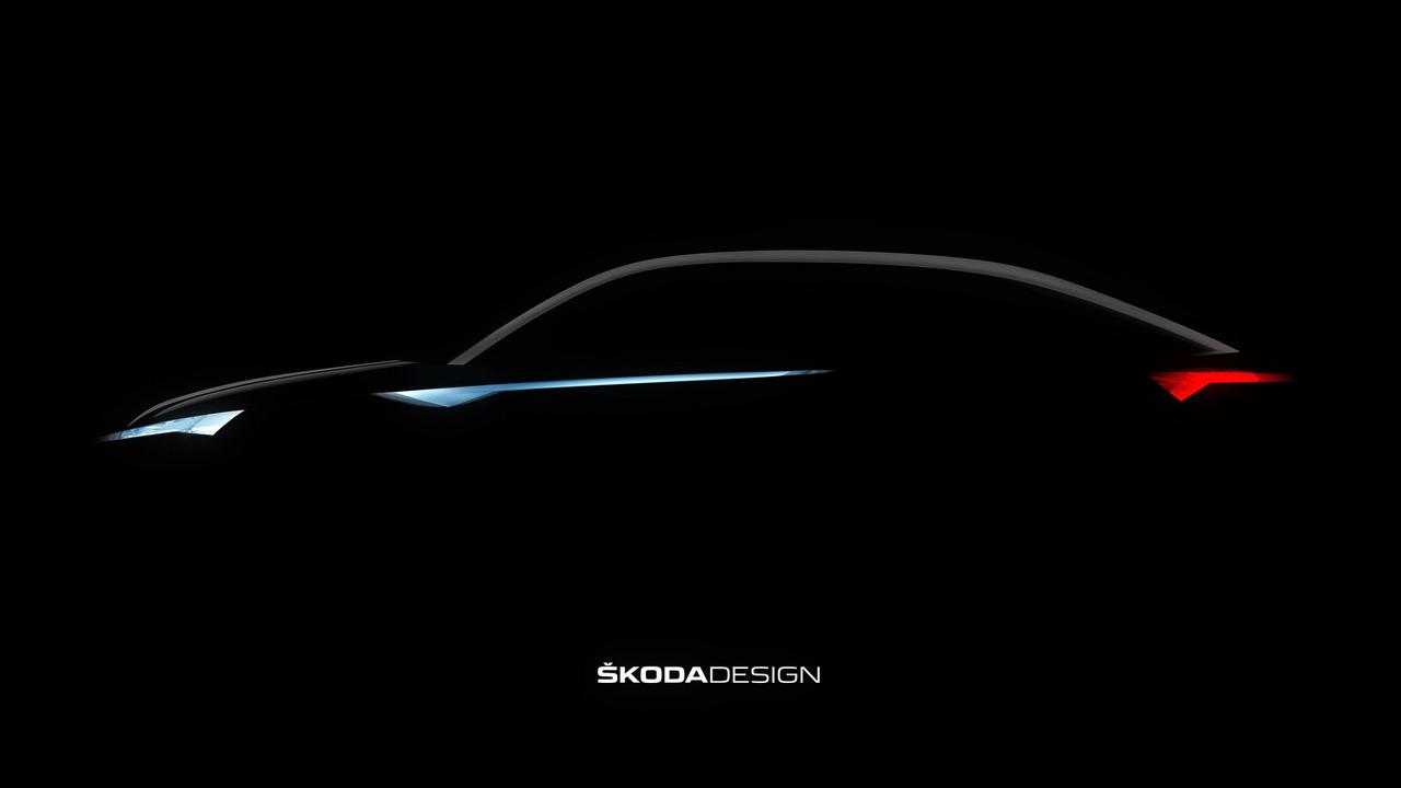 2017 Skoda VisionE teaser