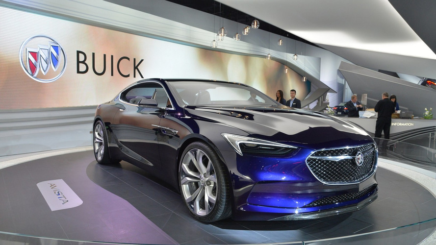Buick Avista concept shows its stylish lines in Detroit [LIVE VIDEO]