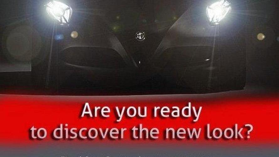 Alfa Romeo teases 4C ahead of Frankfurt debut