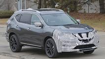 2017 Nissan Rogue spy photo