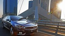 2016 Kia Cadenza / K7 returns to show sleek design in real pics